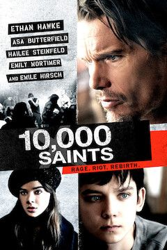 10,000 Saints movie poster.