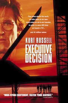 Executive Decision movie poster.