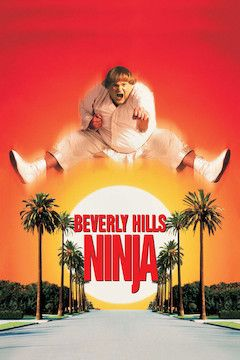 Beverly Hills Ninja movie poster.