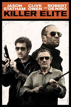 Killer Elite movie poster.