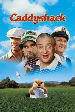 Caddyshack movie poster.