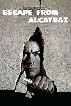 Escape From Alcatraz movie poster.