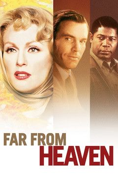 Far From Heaven movie poster.