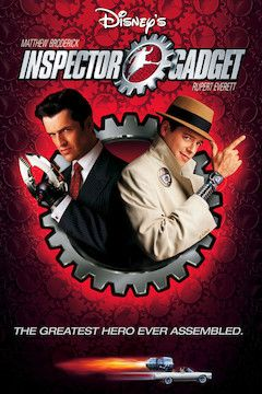 Inspector Gadget movie poster.