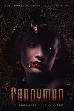 Candyman: Farewell to the Flesh movie poster.