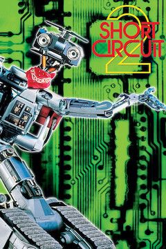 Short Circuit 2 movie poster.