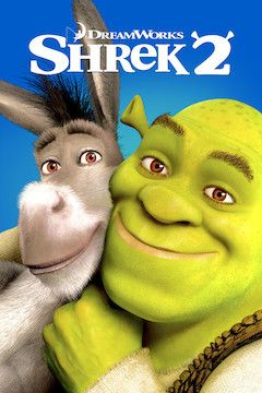Shrek 2 movie poster.