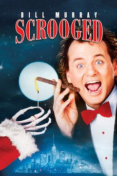Scrooged movie poster.