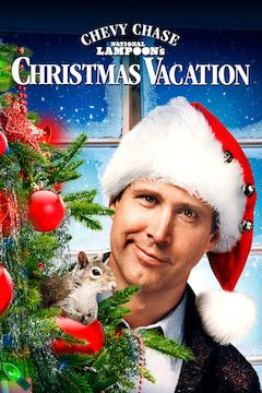 Poster for the movie National Lampoon's Christmas Vacation