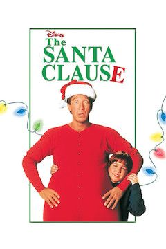 The Santa Clause movie poster.
