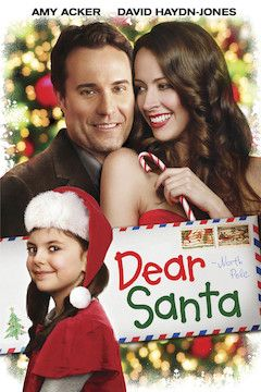 Dear Santa movie poster.