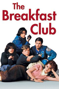 Poster for the movie The Breakfast Club