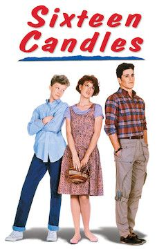 Sixteen Candles movie poster.