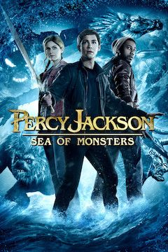 Percy Jackson: Sea of Monsters movie poster.