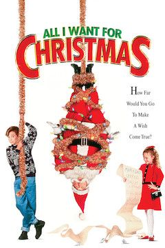 All I Want for Christmas movie poster.