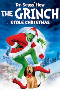 How the Grinch Stole Christmas movie poster.