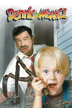 Poster for the movie Dennis the Menace