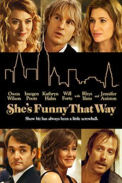 She's Funny That Way movie poster.