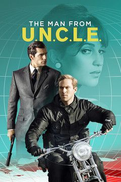 The Man From U.N.C.L.E. movie poster.