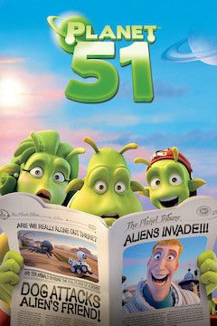 Planet 51 movie poster.