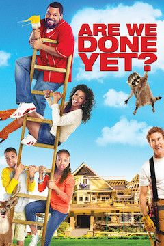 Are We Done Yet? movie poster.
