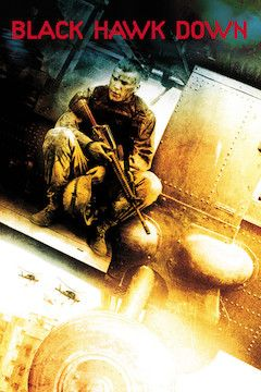 Black Hawk Down movie poster.