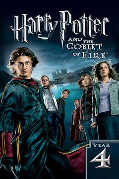 Harry Potter and the Goblet of Fire movie poster.