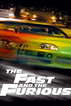 The Fast and the Furious movie poster.