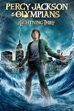 Percy Jackson and the Olympians: The Lightning Thief movie poster.