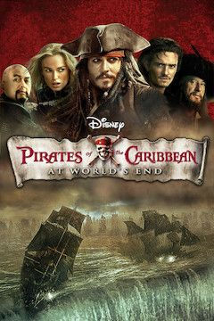 Poster for the movie Pirates of the Caribbean: At World's End