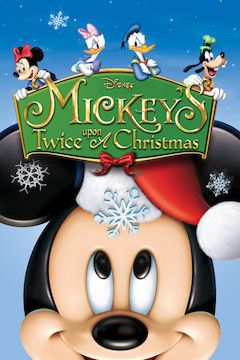Mickey's Twice Upon a Christmas movie poster.