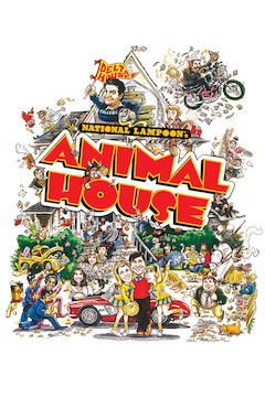 National Lampoon's Animal House movie poster.