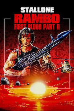 Rambo: First Blood Part II movie poster.