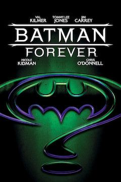Batman Forever movie poster.