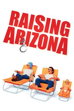 Raising Arizona movie poster.