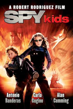 Spy Kids movie poster.