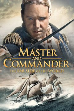 Master and Commander: The Far Side of the World movie poster.