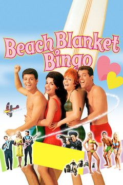 Poster for the movie Beach Blanket Bingo