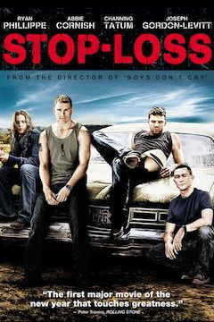 Stop-Loss movie poster.