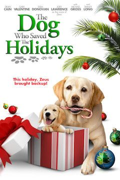 The Dog Who Saved the Holidays movie poster.