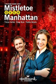 Mistletoe Over Manhattan movie poster.