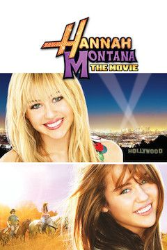 Hannah Montana: The Movie movie poster.