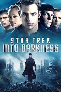 Star Trek Into Darkness movie poster.
