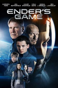 Ender's Game movie poster.