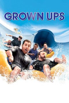 Grown Ups movie poster.