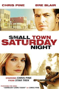Poster for the movie Small Town Saturday Night