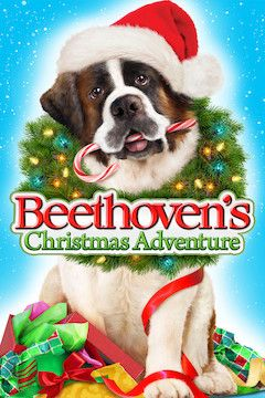 Beethoven's Christmas Adventure movie poster.