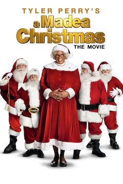 A Madea Christmas movie poster.