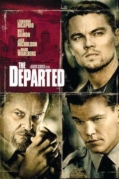 The Departed movie poster.