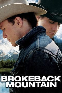 Brokeback Mountain movie poster.